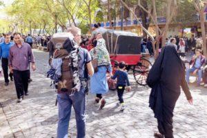 Première photo en Iran