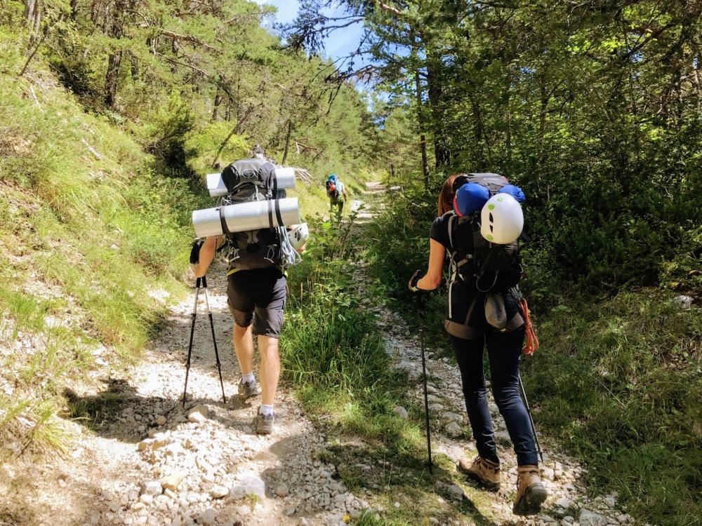 Matériel pour l'ascension du Mont Aiguille