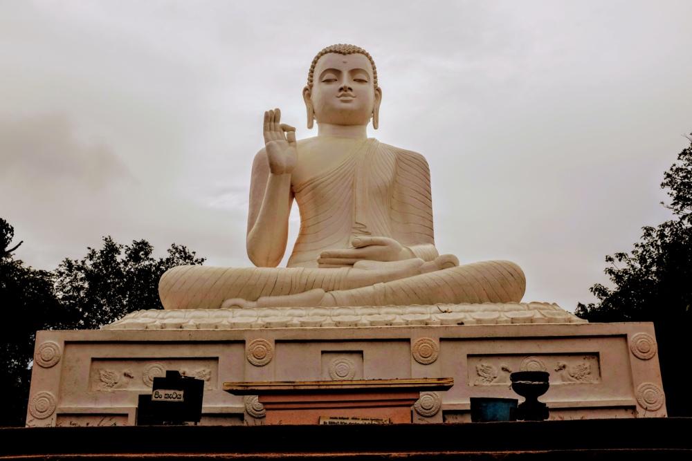 Anuradhapura au Sri Lanka, site classé au patrimoine mondial de l'UNESCO