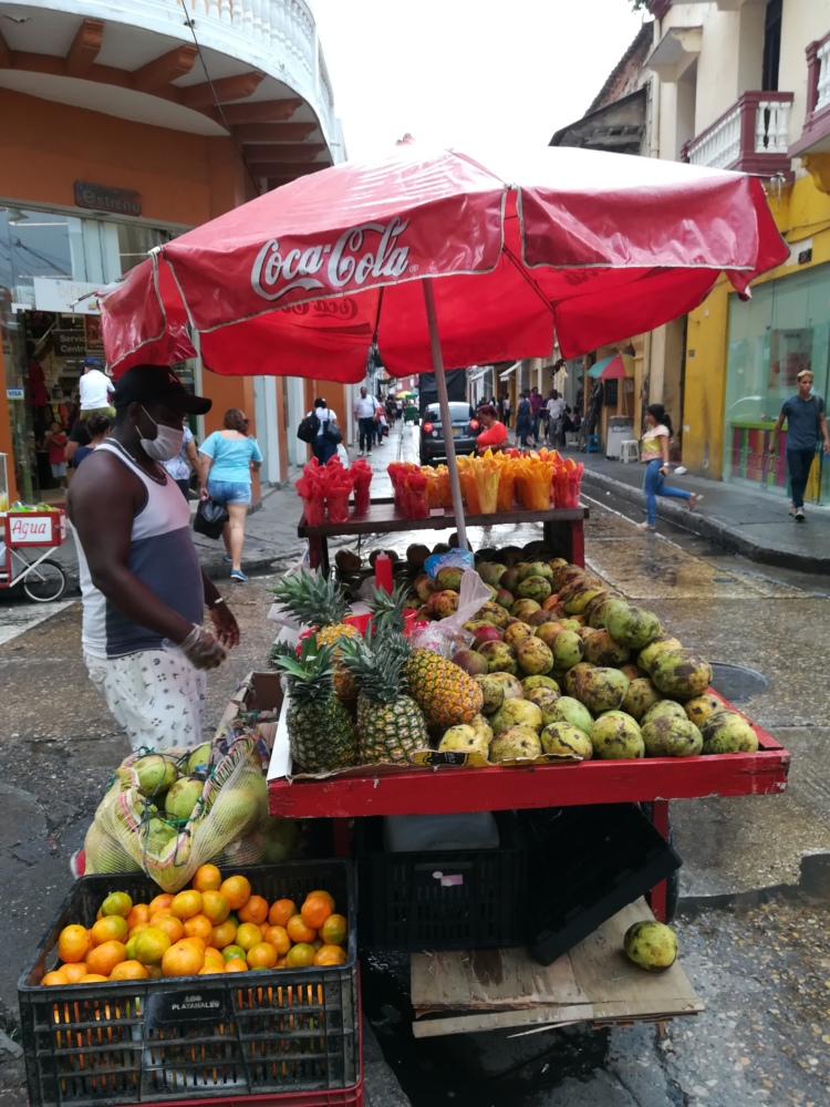 Vendeur de rue à Carthagène