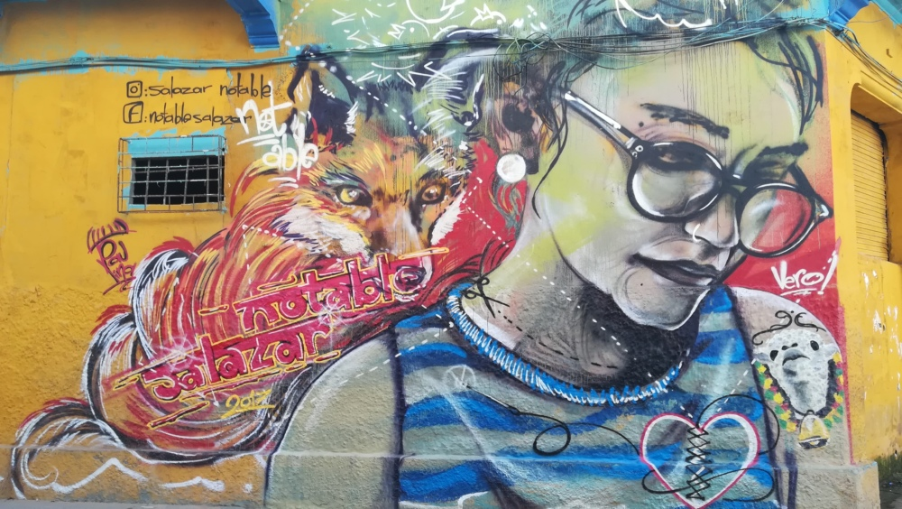 Art de rue à Carthagène