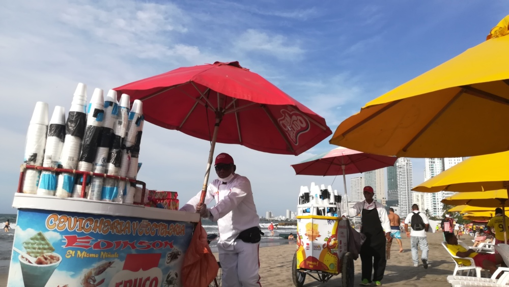 Les plages de Carthagène