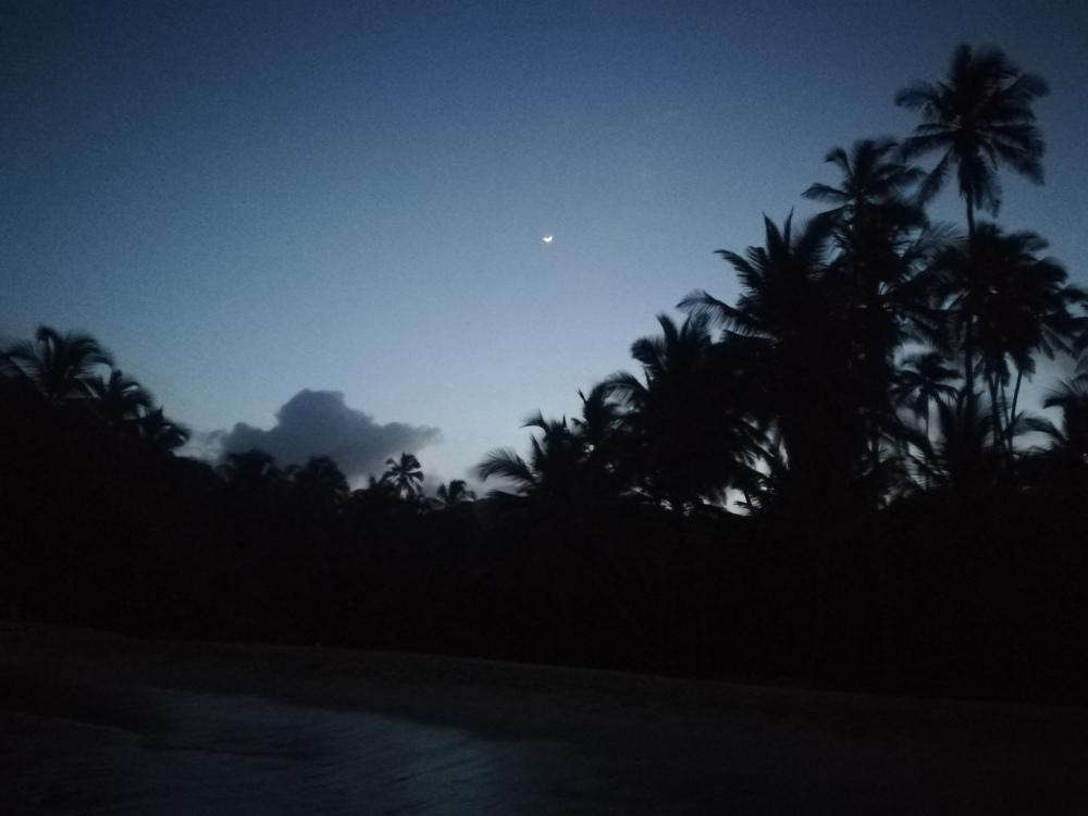 La nuit au Parc Tayrona en Colombie