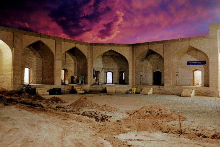 Caravanserail dans les alentours de Kashan