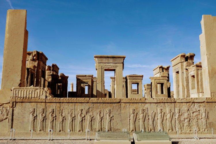 Vestiges site de Persepolis