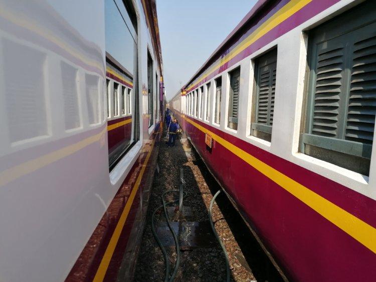 Train vers Chiang Mai