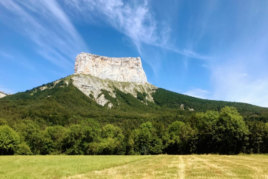Le paysage du Mont Aiguille